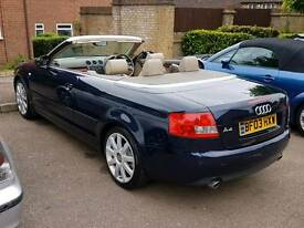 Audi A4 Cabriolet 1.8T B6