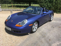 Porsche Boxster 3.2 S. Full Service History, new N rated tyres, just serviced