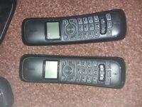 2 cordless house phones
