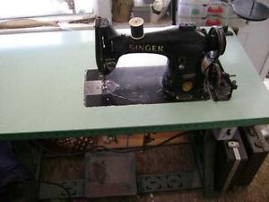 Machine a coudre industriel Singer