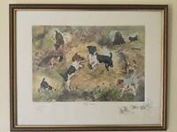 Gillian Harris Jack Russells limited edition signed print