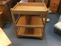 SOLID WOODEN BABY CHANGER