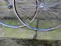 700c road bike wheels shimano 7 8 9 10 speed 105 hubs mavic cxp33 rims 36h