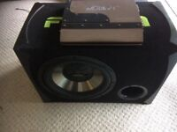 FUSION Subwoofer and Amplifier £60