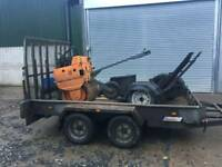 Plant trailer. Indispention