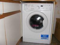 6kg indesit washing machine 3 mth old