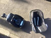 Maxicosi car seat ISO fix