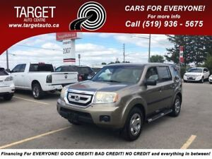 2009 Honda Pilot LX, 8-Pass, Great Family Vehicle and More !!!