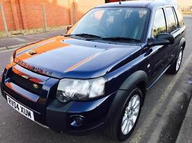 Land Rover Freelander TD4,S/W,Diesel AUTOMATIC,2004,F.SRV.HSTRY,PART LEATHER,LONG MOT