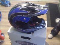 viper s rsx8 kids motorbike helmet new