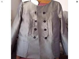 Luxury brand Dorothee Schumacher Double jacket with skirt Size 4/L (12/14 UK ) New , with tags