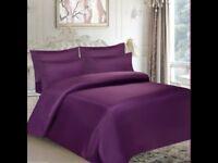 6 piece bed set purple double