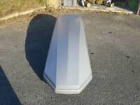 470l Halfords Roof Box
