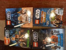 Kids Lego Star wars books - excellent condition