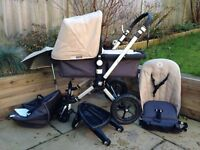 Bugaboo Chameleon pram with accesories