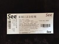 Radio 2 Festival in a Day 2016 Tickets X 2