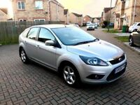 2009 FORD FOCUS 1.6 ZETEC, 46000 MILES, LONG MOT, JUST SERVICED, EXCELLENT CONDITION, HPI CLEAR