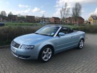 Audi A4 1.8T Convertible Now Sold !
