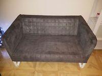 Grey Ikea Sofa (KNOPPARP) Two Available