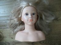 Styling dolls head
