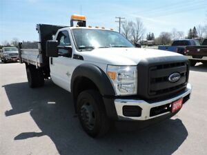 2014 Ford F-550 Chassis CAB XL. Diesel. 4X4. Dump box. only 92 K