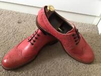 Oliver Sweeney SERPENTINE Men's Brogue Leather Shoes (SIZE: 10) NEW