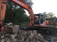 FH150LC-2 DIGGER