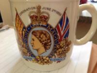 1953coronation mug