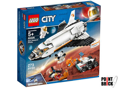 LEGO 60226 CITY SPACE Shuttle di ricerca su Marte