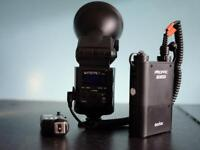 Godox ad360 with portable charger and wireless trigger ft-16