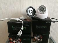 Complet CCTV Sistem 4 cameras