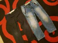 Boys jeans age 4/5 years