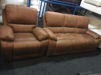 New/Ex Display LazyBoy Westchester 3 + 1 Seater Recliner Chair Sofa