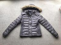 SuperDry - Luxe Fuji Double Zip Hooded Jacket - Size M (new without tags)