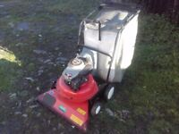 WHEELED GARDEN VACUUM / LEAF COLLECTOR