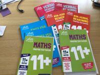 11+ ( eleven plus) Letts workbooks : complete set