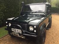 300tdi defender Land Rover 90 name daisy