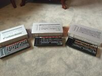 3x Roland Boutique. JU-06, JP-08, JX-03 with K25M keyboard collection.