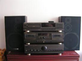 Technics hi-fi system