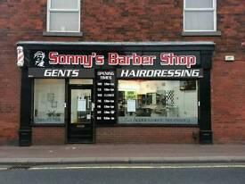 Sonny's barber shop barber chair for rent in Leyland
