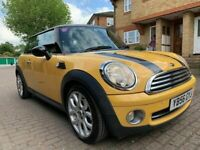 2007 MINI COOPER 1.6 , FULLY LOADED , EXCLUSIVE COLOUR , HAS MOT / SERVICE HISTORY / ONLY £2000