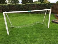 8' x 4' goalpost UPVC with net and pegs