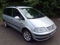 2004 Volkswagen Sharan 2.0 SL 7 Seat MPV ***Great Driver***