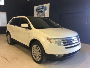 2008 Ford Edge Limited, CUIR, TOIT PANO, GPS, MAGS 20 POUCES