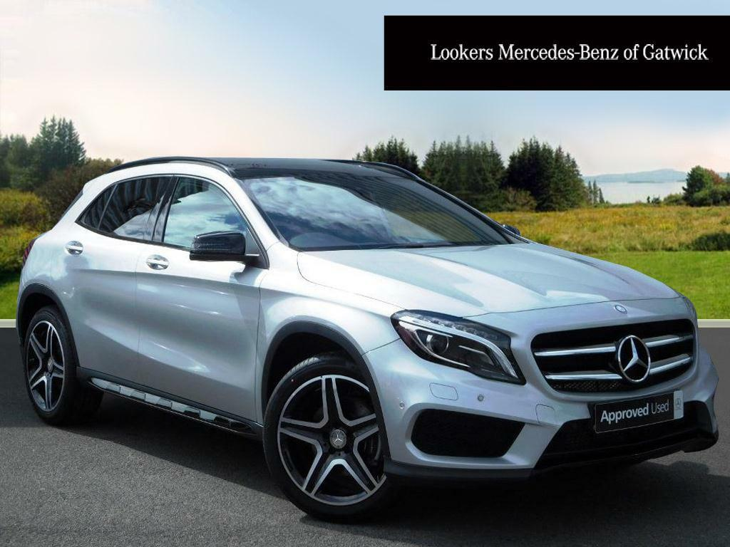 mercedes benz gla class gla 220 d 4matic amg line premium plus silver 2016 07 08 in crawley. Black Bedroom Furniture Sets. Home Design Ideas