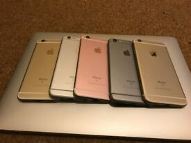 APPLE IPHONE 6S 64GB UNLOCKED MINT CONDITION ALL COLOURS AVAILABLE