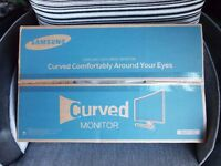 SAMSUNG curved 27inch monitor, SE510C.