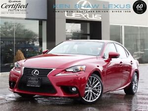 2015 Lexus IS 250 ** Luxury with Navigation ** Only 19393 Km **