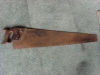 Pair of Vintage wood saws