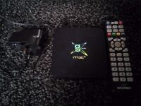 G-box midnight mx2 Android box with remote.